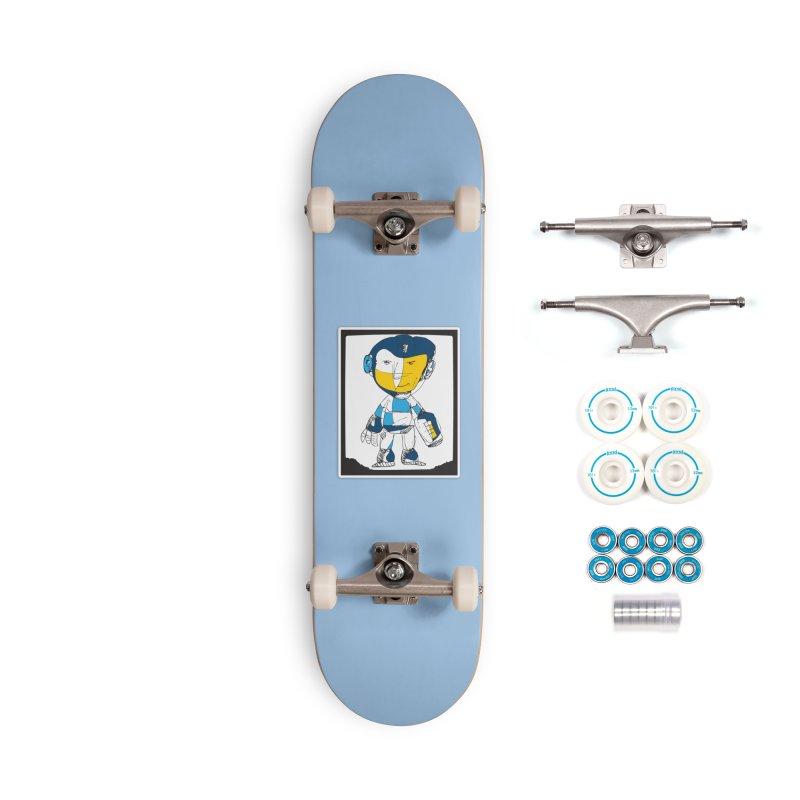 MEGAMAN Accessories Complete - Basic Skateboard by Turkeylegsray's Artist Shop