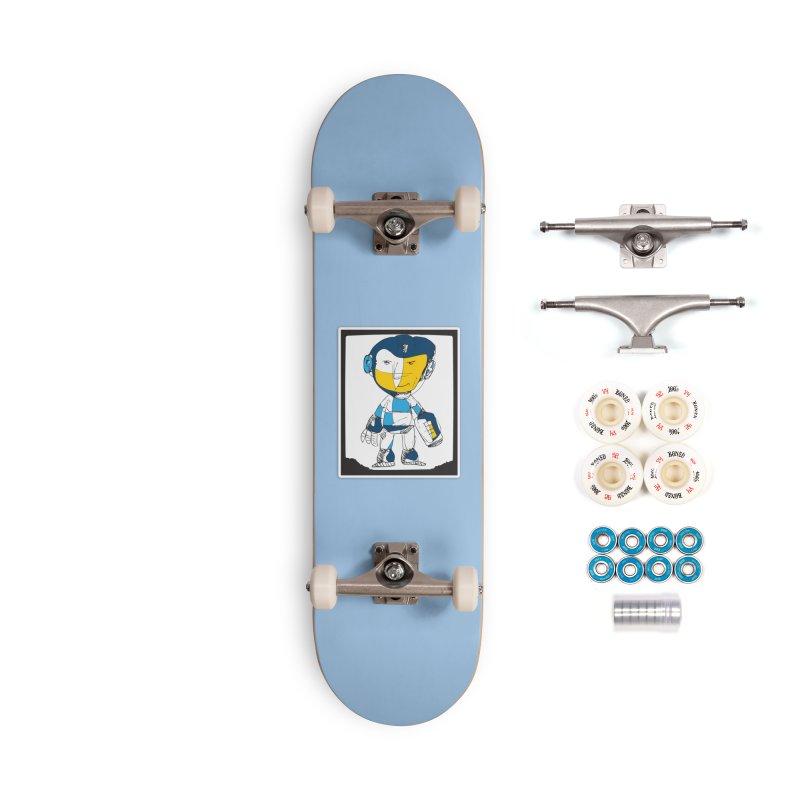 MEGAMAN Accessories Complete - Premium Skateboard by Turkeylegsray's Artist Shop