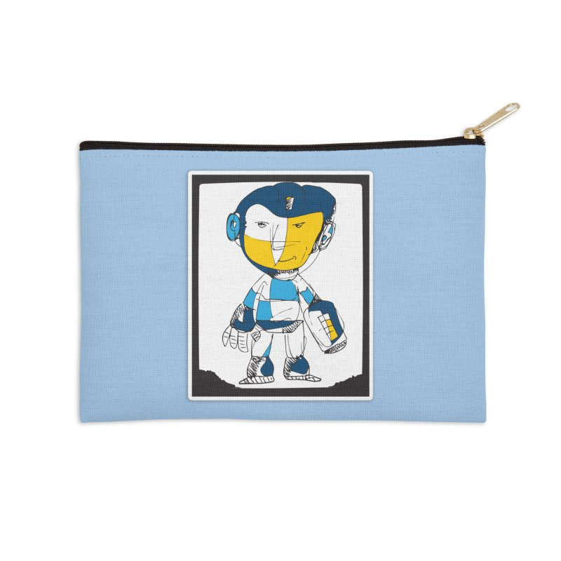 MEGAMAN Accessories Zip Pouch by Turkeylegsray's Artist Shop