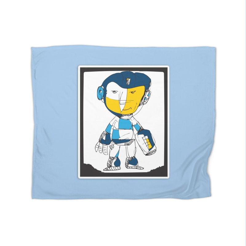 MEGAMAN Home Fleece Blanket Blanket by Turkeylegsray's Artist Shop