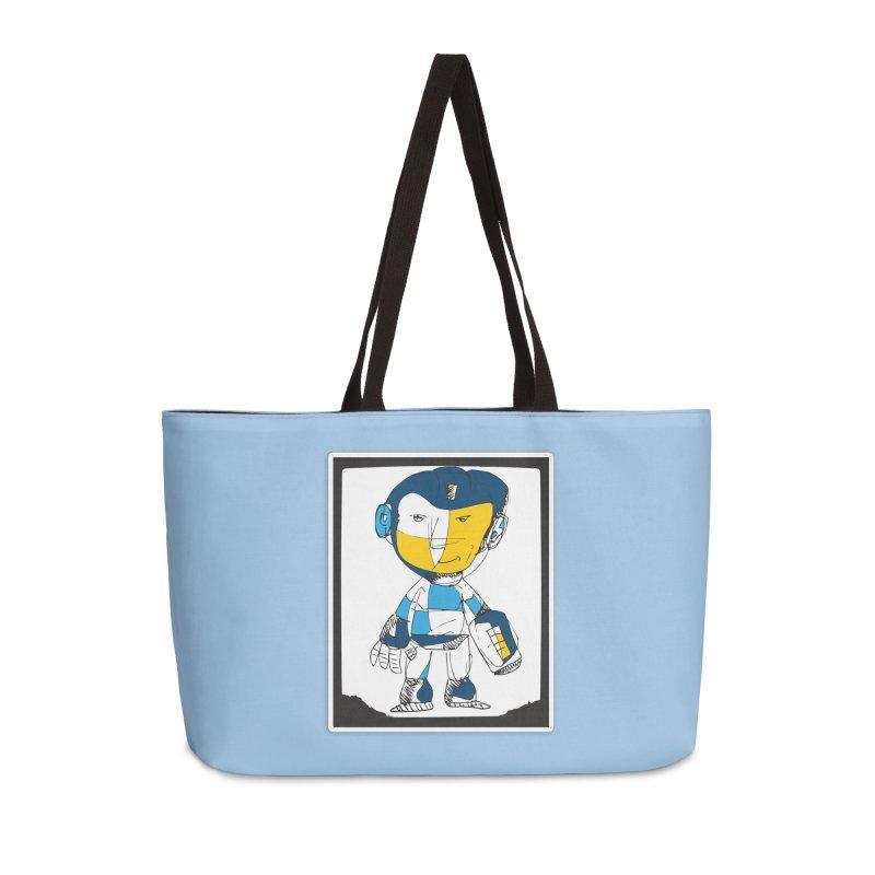 MEGAMAN Accessories Weekender Bag Bag by Turkeylegsray's Artist Shop