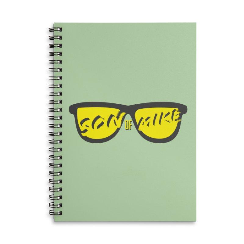SOM GLASSES Accessories Lined Spiral Notebook by Turkeylegsray's Artist Shop