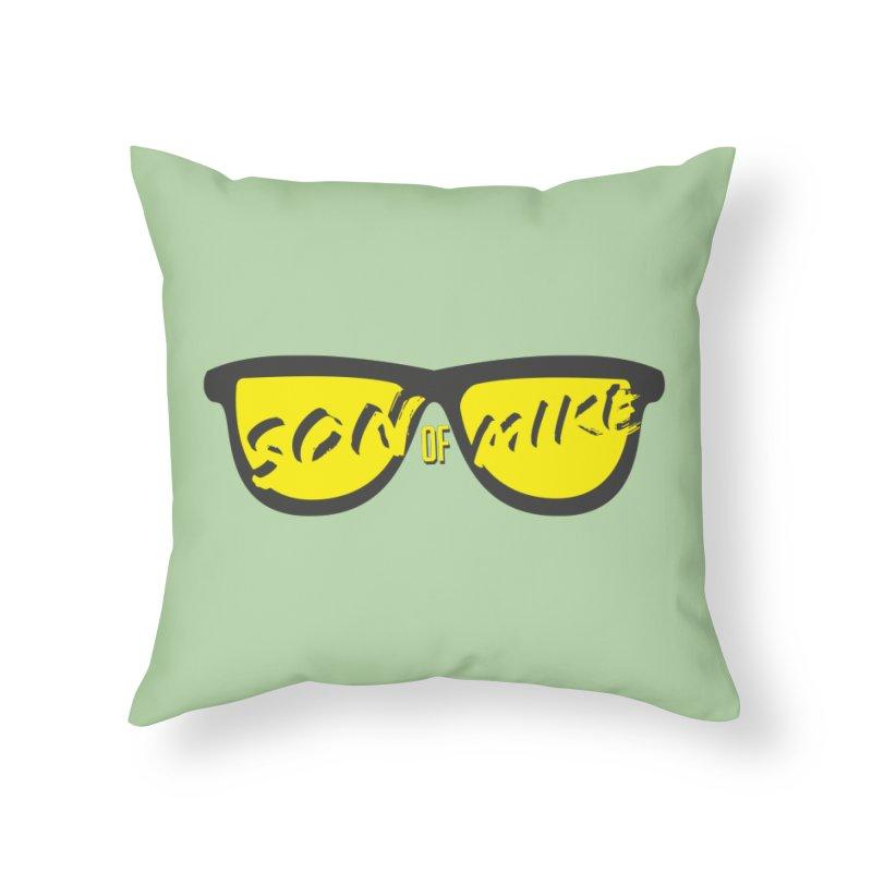 SOM GLASSES Home Throw Pillow by Turkeylegsray's Artist Shop