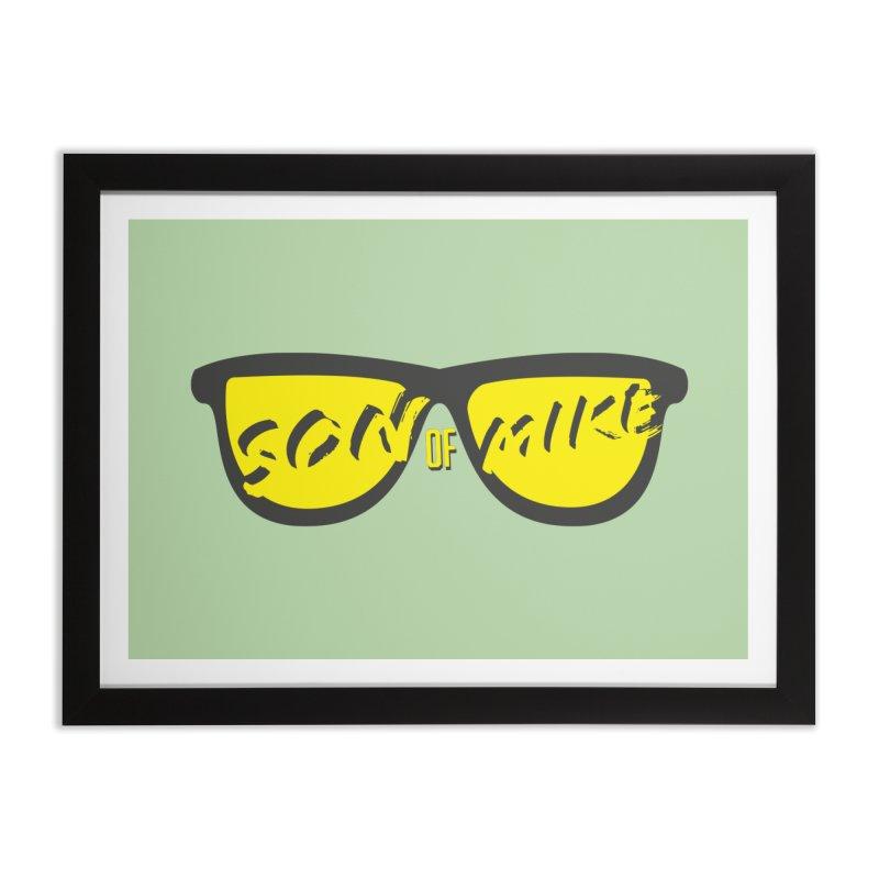 SOM GLASSES Home Framed Fine Art Print by Turkeylegsray's Artist Shop