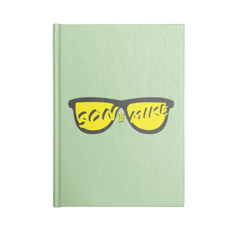 SOM GLASSES Accessories Lined Journal Notebook by Turkeylegsray's Artist Shop