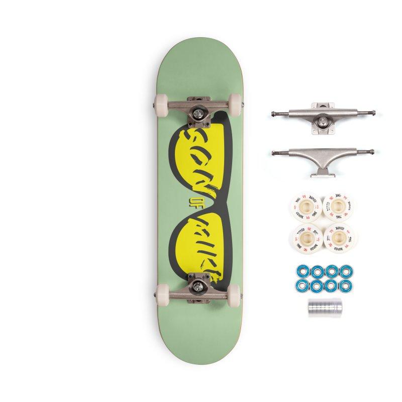 SOM GLASSES Accessories Complete - Premium Skateboard by Turkeylegsray's Artist Shop