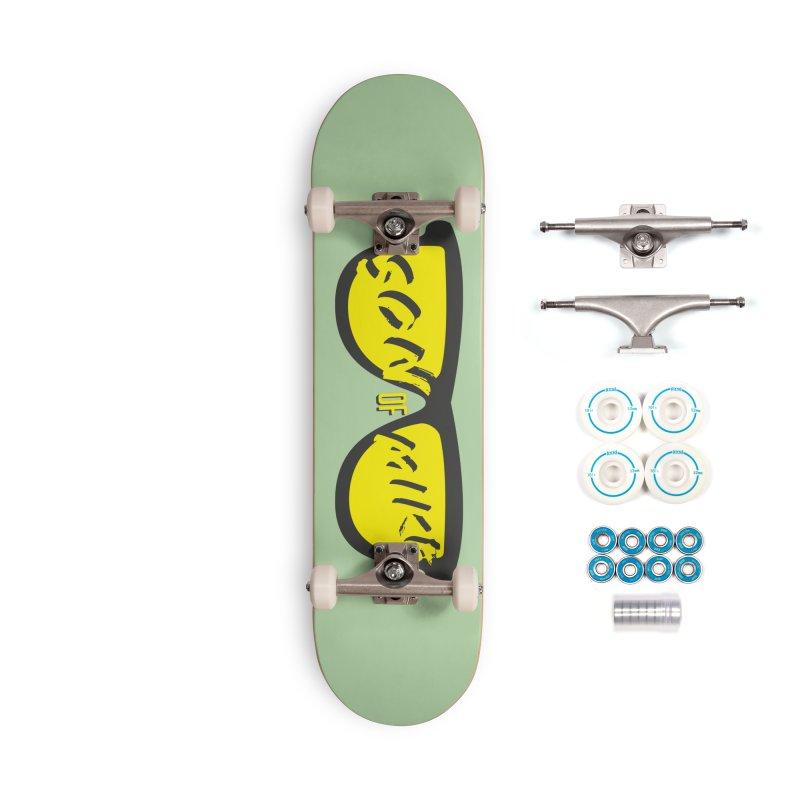 SOM GLASSES Accessories Complete - Basic Skateboard by Turkeylegsray's Artist Shop