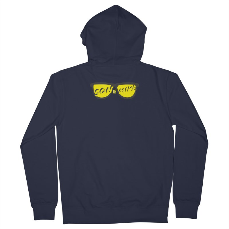 SOM GLASSES Men's French Terry Zip-Up Hoody by Turkeylegsray's Artist Shop