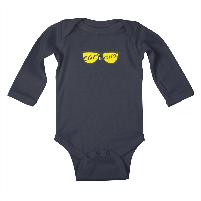 SOM GLASSES Kids Baby Longsleeve Bodysuit by Turkeylegsray's Artist Shop