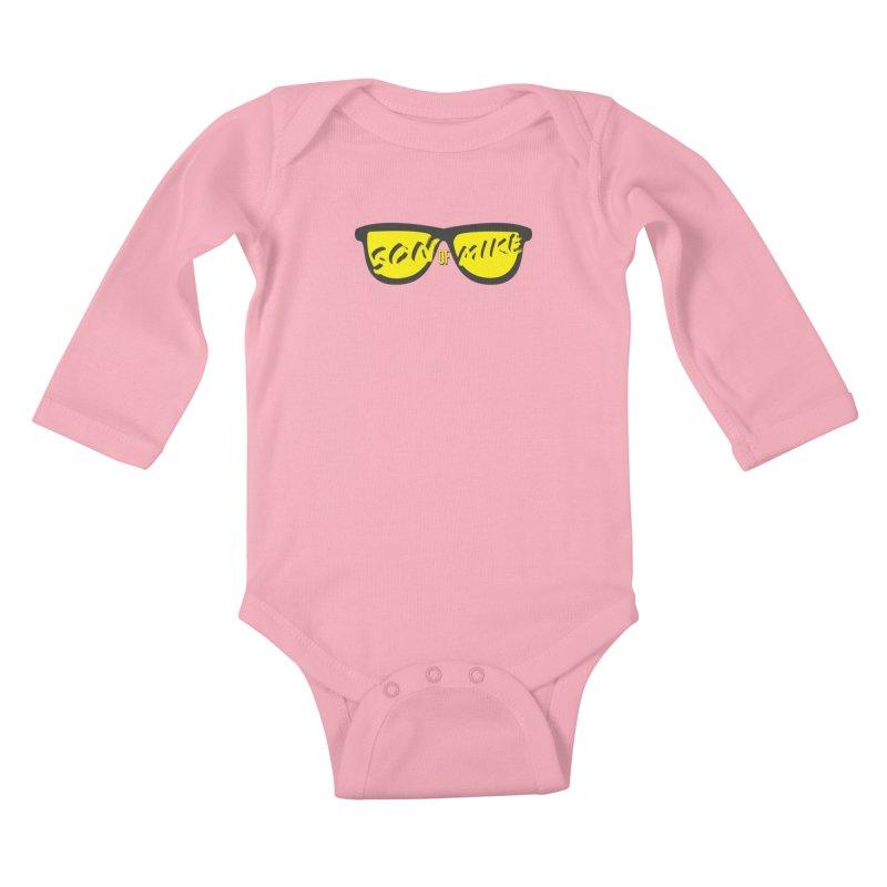 SOM GLASSES Kids Baby Longsleeve Bodysuit by Turkeylegsray's Artist Shop
