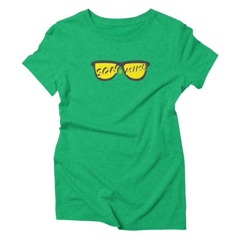SOM GLASSES Women's Triblend T-Shirt by Turkeylegsray's Artist Shop
