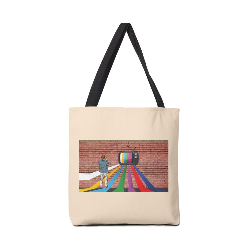 Brick Wall Accessories Tote Bag Bag by Turkeylegsray's Artist Shop