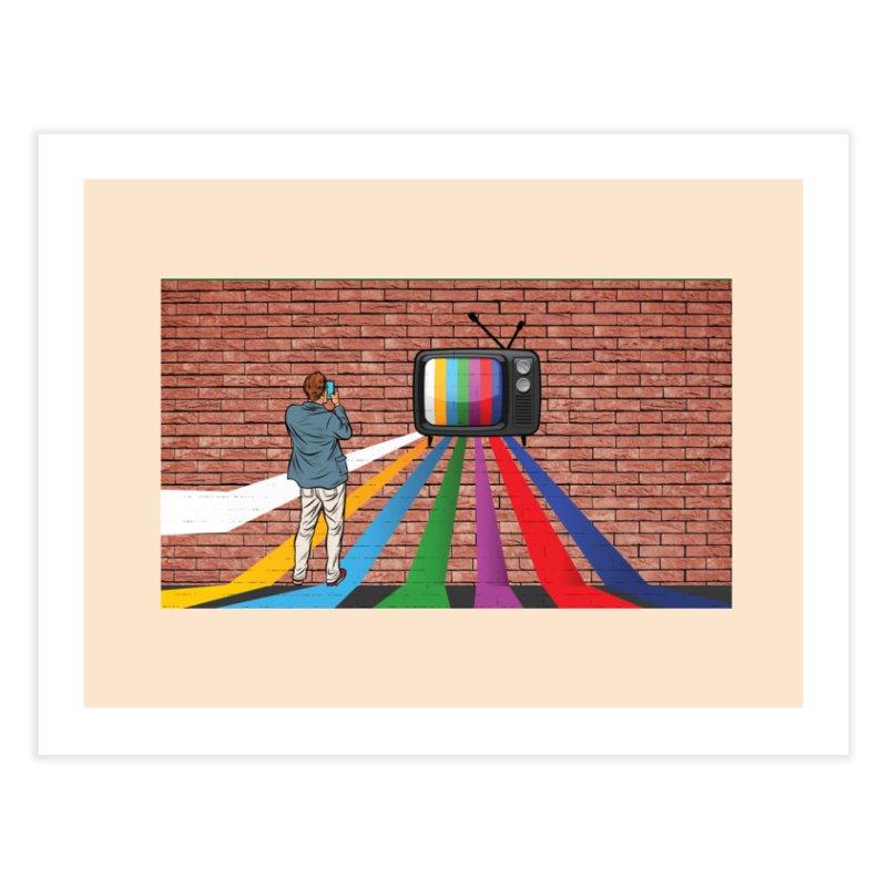 Brick Wall Home Fine Art Print by Turkeylegsray's Artist Shop