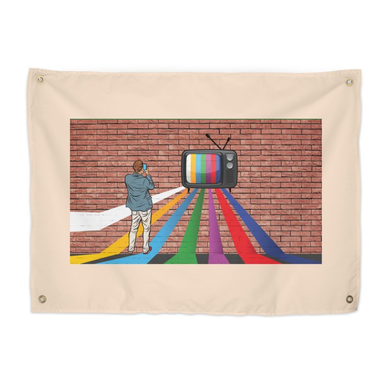 Brick Wall Home Tapestry by Turkeylegsray's Artist Shop
