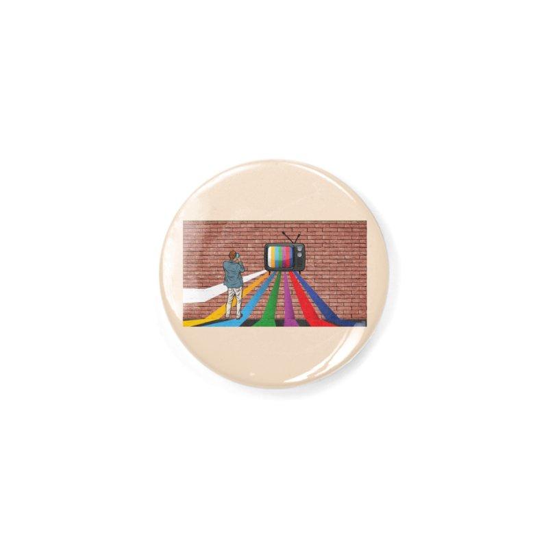 Brick Wall Accessories Button by Turkeylegsray's Artist Shop