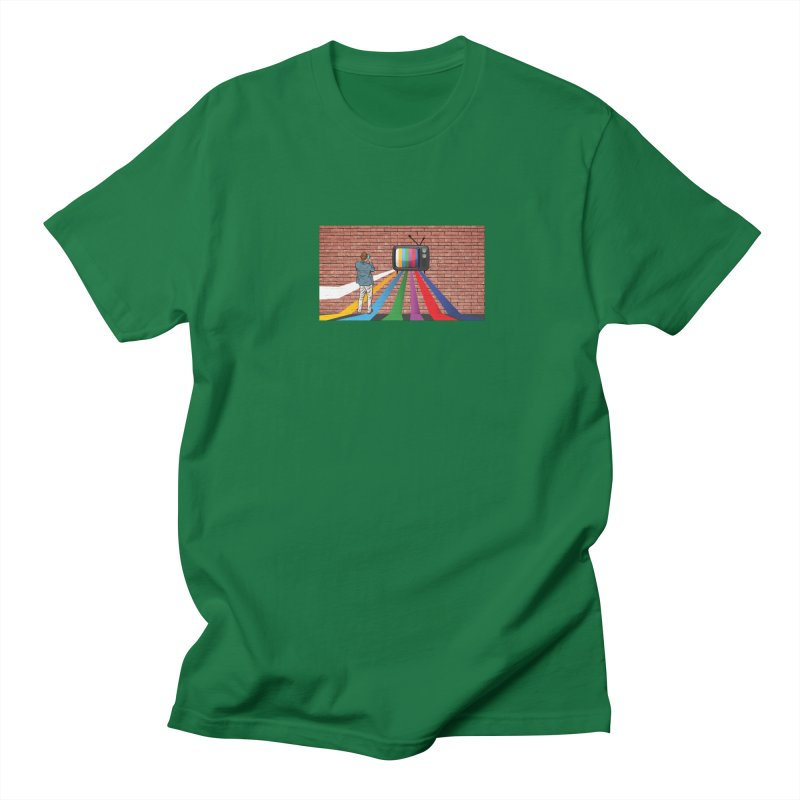 Brick Wall Women's Regular Unisex T-Shirt by Turkeylegsray's Artist Shop