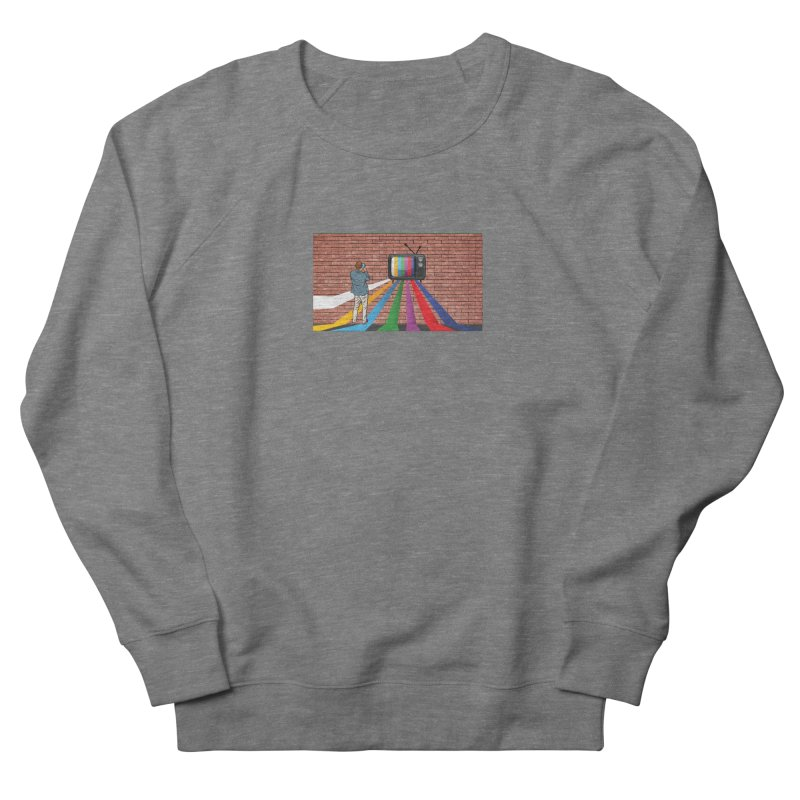Brick Wall Women's French Terry Sweatshirt by Turkeylegsray's Artist Shop