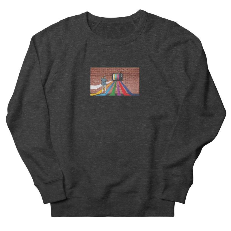 Brick Wall Men's French Terry Sweatshirt by Turkeylegsray's Artist Shop