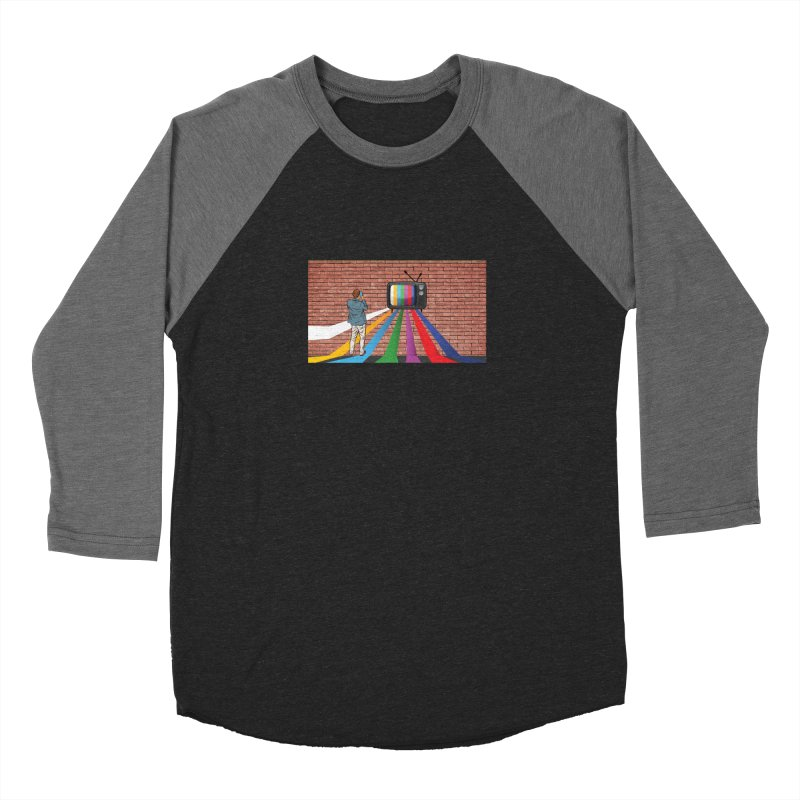 Brick Wall Women's Baseball Triblend Longsleeve T-Shirt by Turkeylegsray's Artist Shop