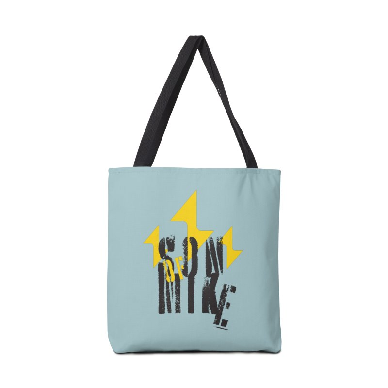 "SON OF MIKE ""Lightning II"" Accessories Tote Bag Bag by Turkeylegsray's Artist Shop"