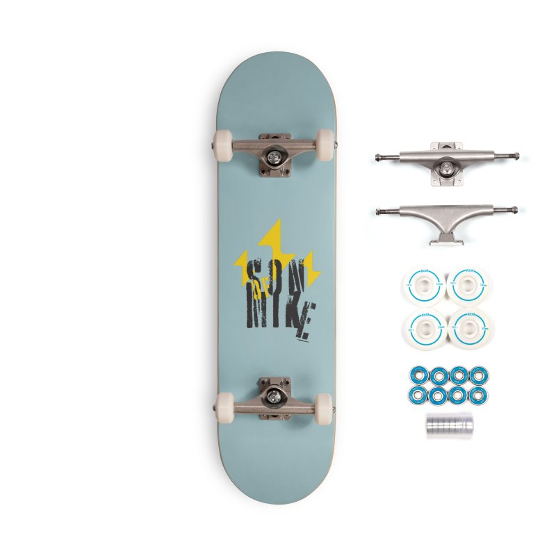 "SON OF MIKE ""Lightning II"" Accessories Complete - Basic Skateboard by Turkeylegsray's Artist Shop"