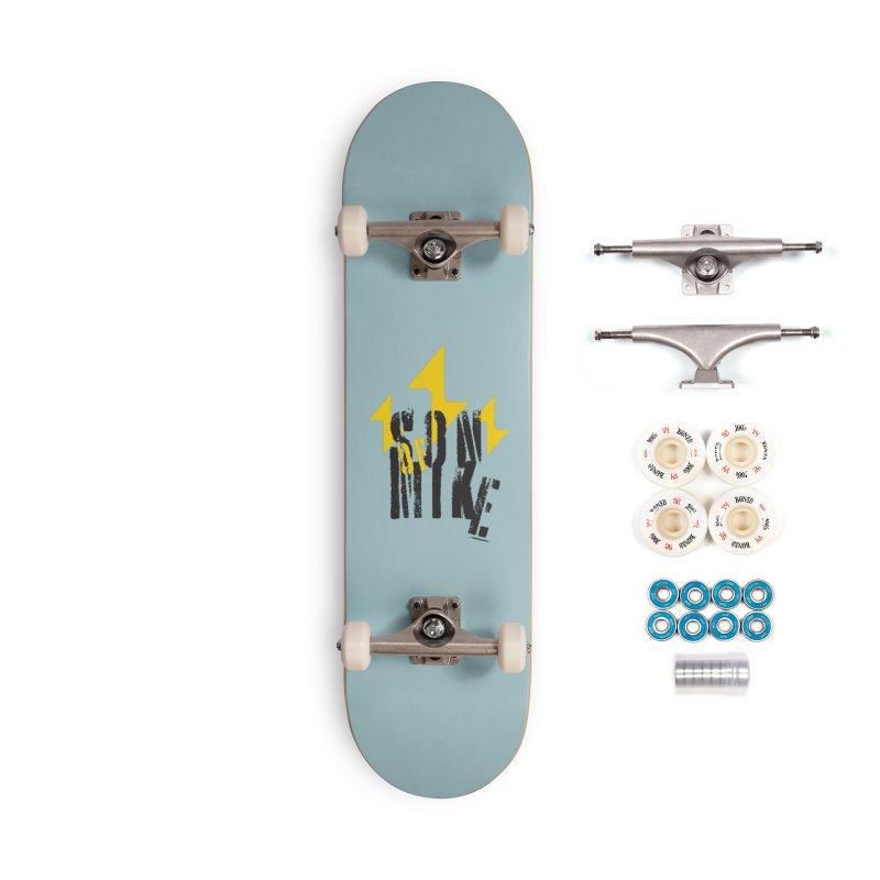 "SON OF MIKE ""Lightning II"" Accessories Complete - Premium Skateboard by Turkeylegsray's Artist Shop"