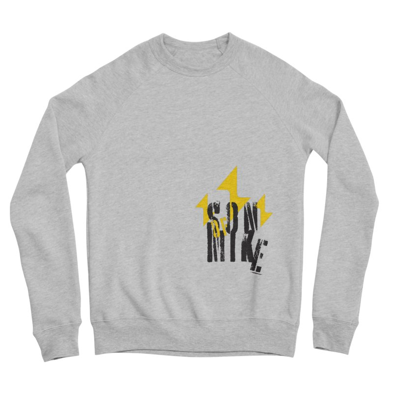"SON OF MIKE ""Lightning II"" Women's Sponge Fleece Sweatshirt by Turkeylegsray's Artist Shop"