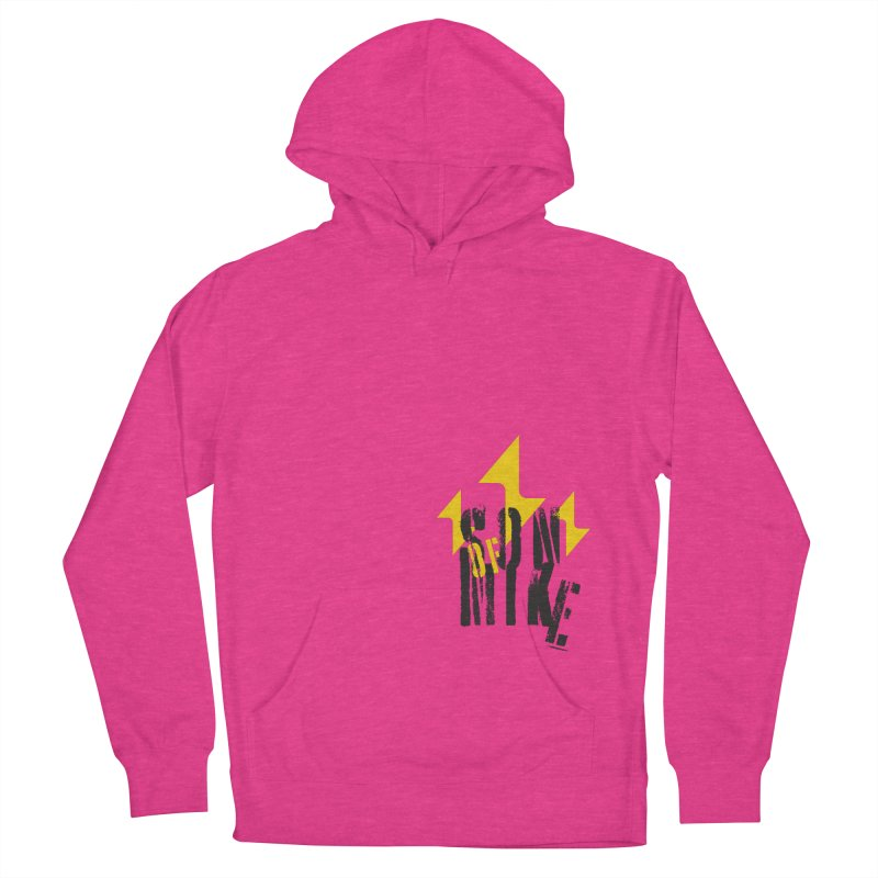 "SON OF MIKE ""Lightning II"" Women's French Terry Pullover Hoody by Turkeylegsray's Artist Shop"