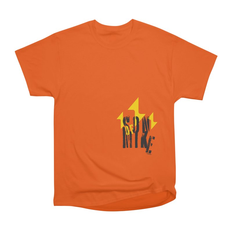 "SON OF MIKE ""Lightning II"" Men's Heavyweight T-Shirt by Turkeylegsray's Artist Shop"