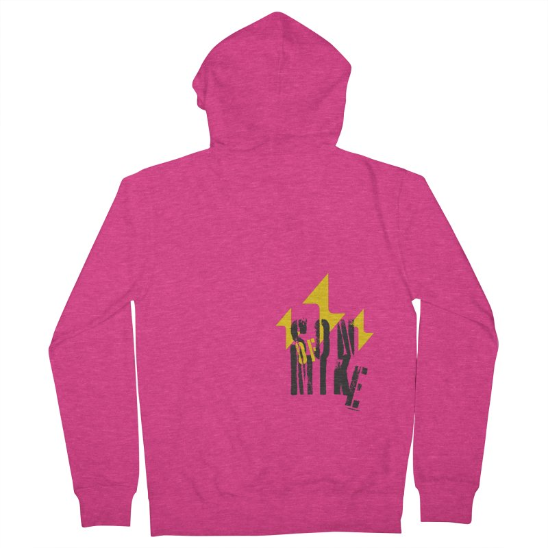 "SON OF MIKE ""Lightning II"" Women's French Terry Zip-Up Hoody by Turkeylegsray's Artist Shop"