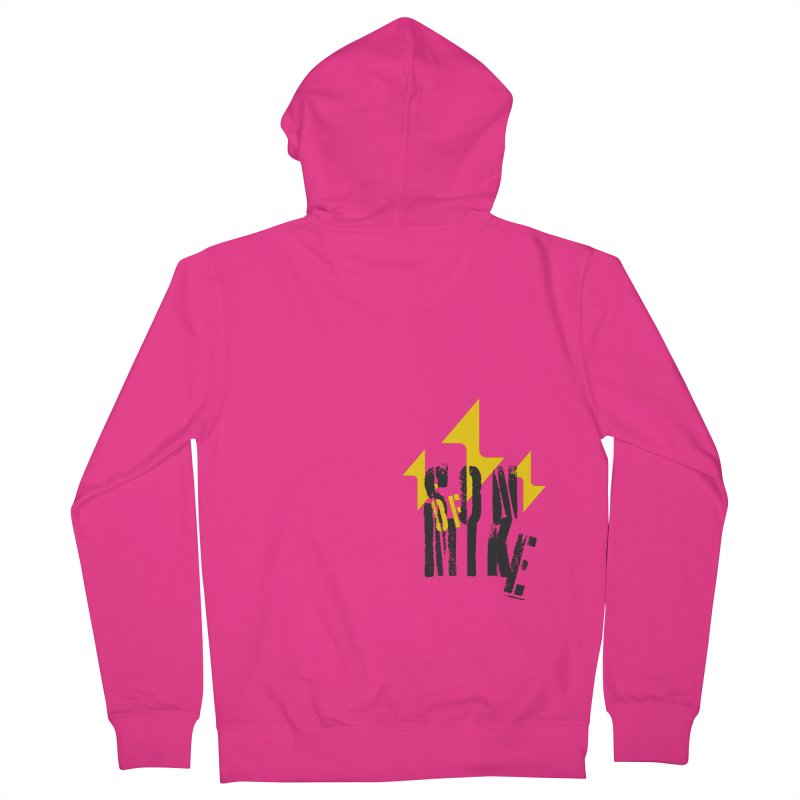 "SON OF MIKE ""Lightning II"" Men's French Terry Zip-Up Hoody by Turkeylegsray's Artist Shop"