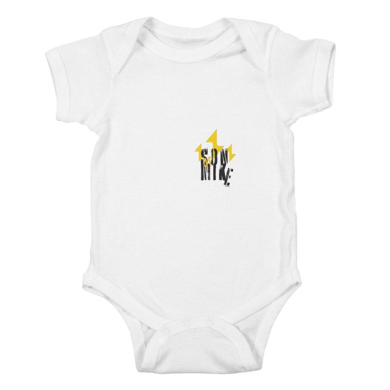"SON OF MIKE ""Lightning II"" Kids Baby Bodysuit by Turkeylegsray's Artist Shop"