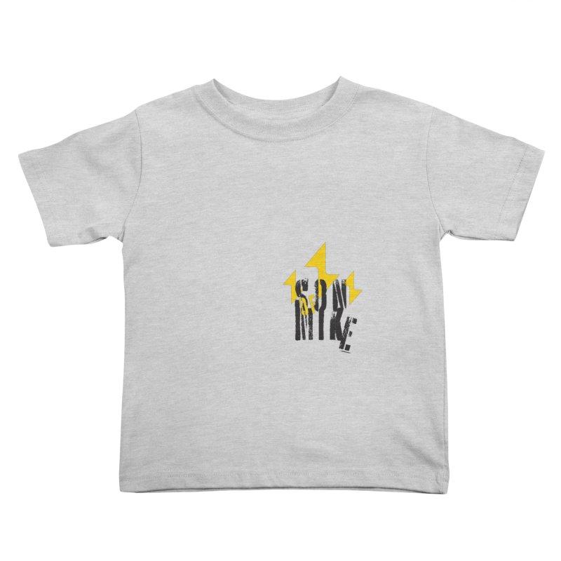 "SON OF MIKE ""Lightning II"" Kids Toddler T-Shirt by Turkeylegsray's Artist Shop"