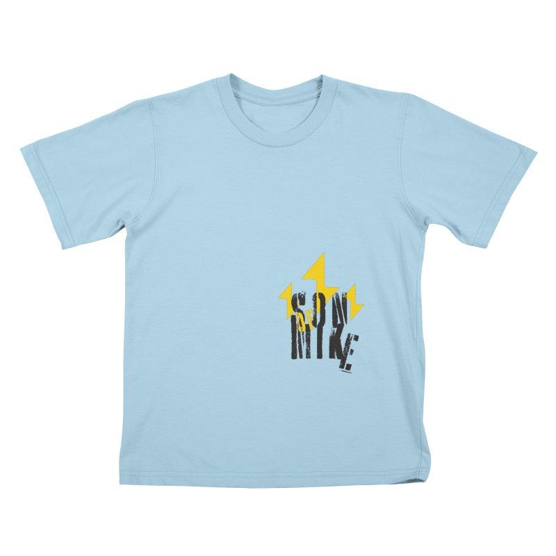 "SON OF MIKE ""Lightning II"" Kids T-Shirt by Turkeylegsray's Artist Shop"
