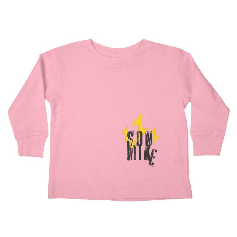 "SON OF MIKE ""Lightning II"" Kids Toddler Longsleeve T-Shirt by Turkeylegsray's Artist Shop"