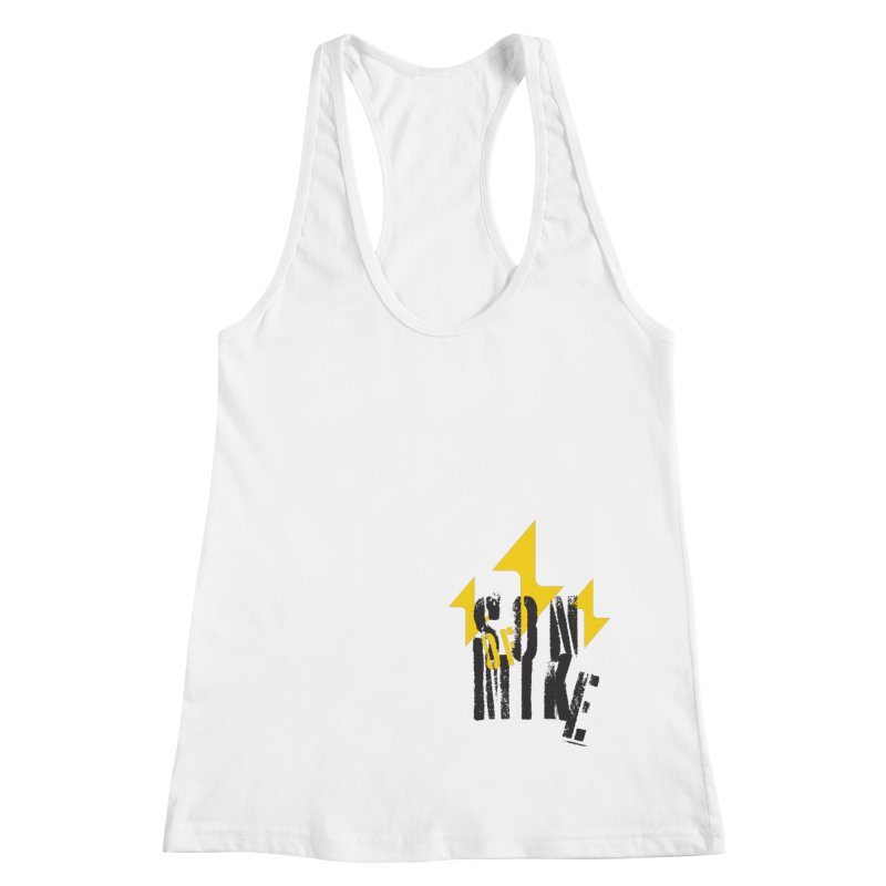 "SON OF MIKE ""Lightning II"" Women's Racerback Tank by Turkeylegsray's Artist Shop"