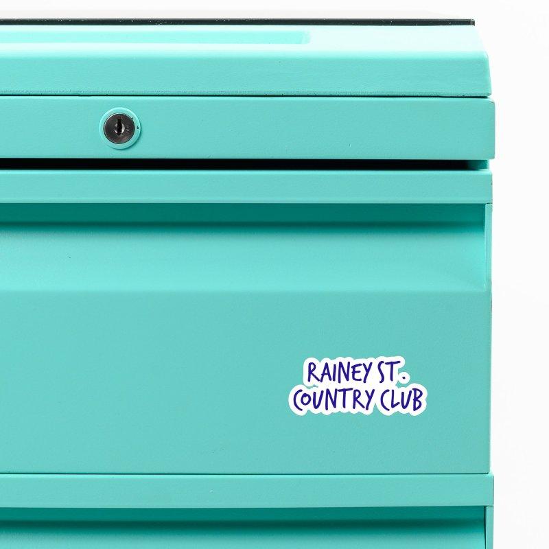 Rainey St. Country Club Accessories Magnet by Turkeylegsray's Artist Shop