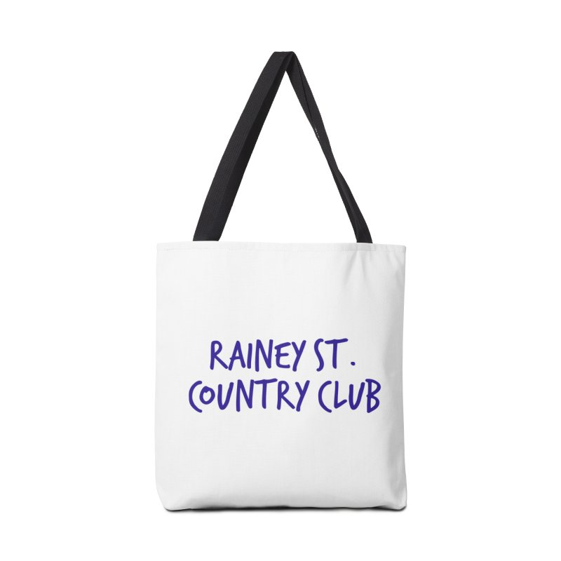 Rainey St. Country Club Accessories Tote Bag Bag by Turkeylegsray's Artist Shop