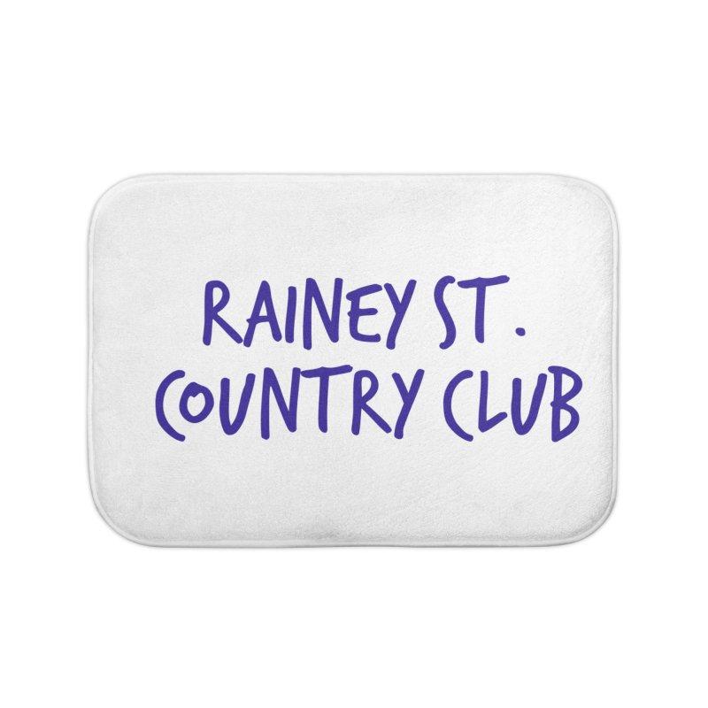 Rainey St. Country Club Home Bath Mat by Turkeylegsray's Artist Shop