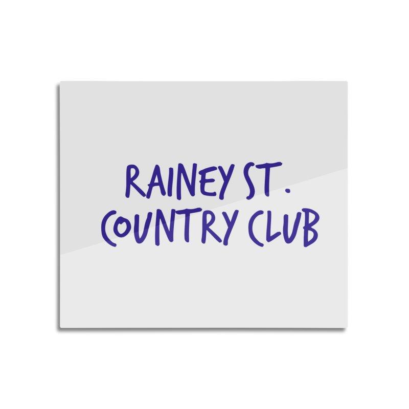 Rainey St. Country Club Home Mounted Acrylic Print by Turkeylegsray's Artist Shop