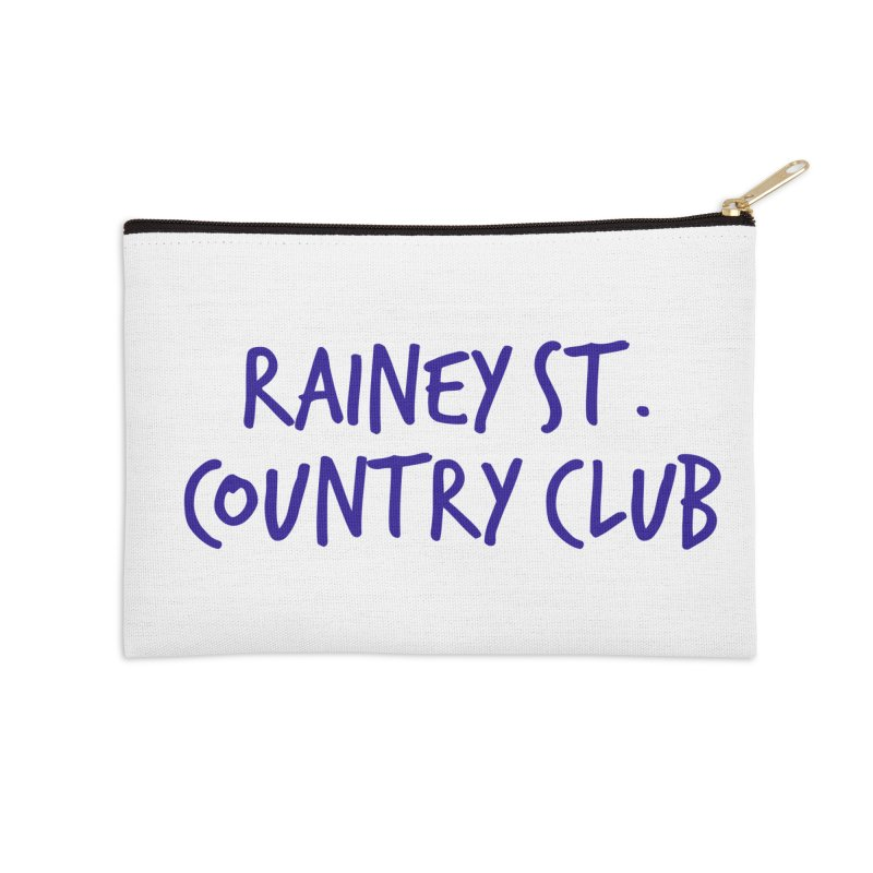 Rainey St. Country Club Accessories Zip Pouch by Turkeylegsray's Artist Shop