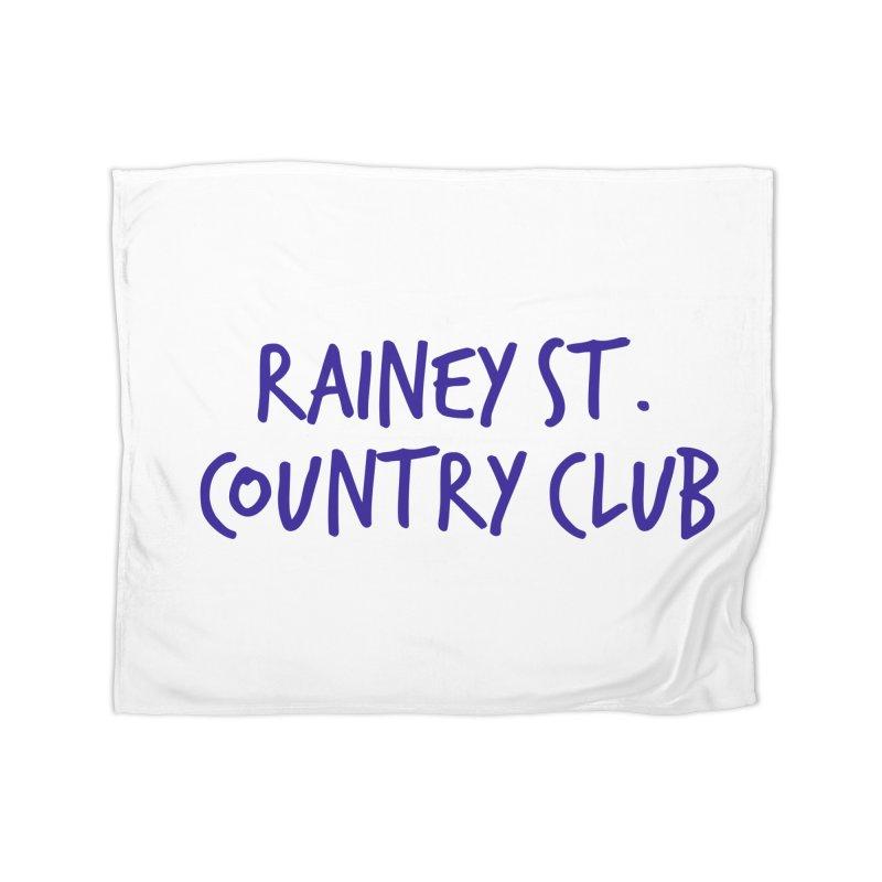 Rainey St. Country Club Home Fleece Blanket Blanket by Turkeylegsray's Artist Shop