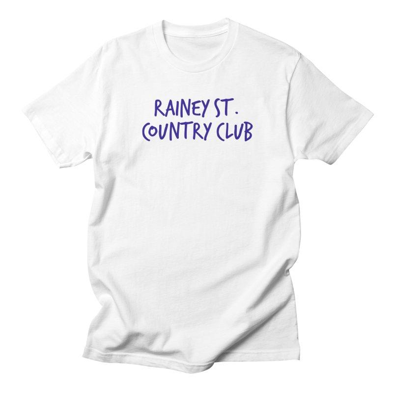 Rainey St. Country Club Men's Regular T-Shirt by Turkeylegsray's Artist Shop