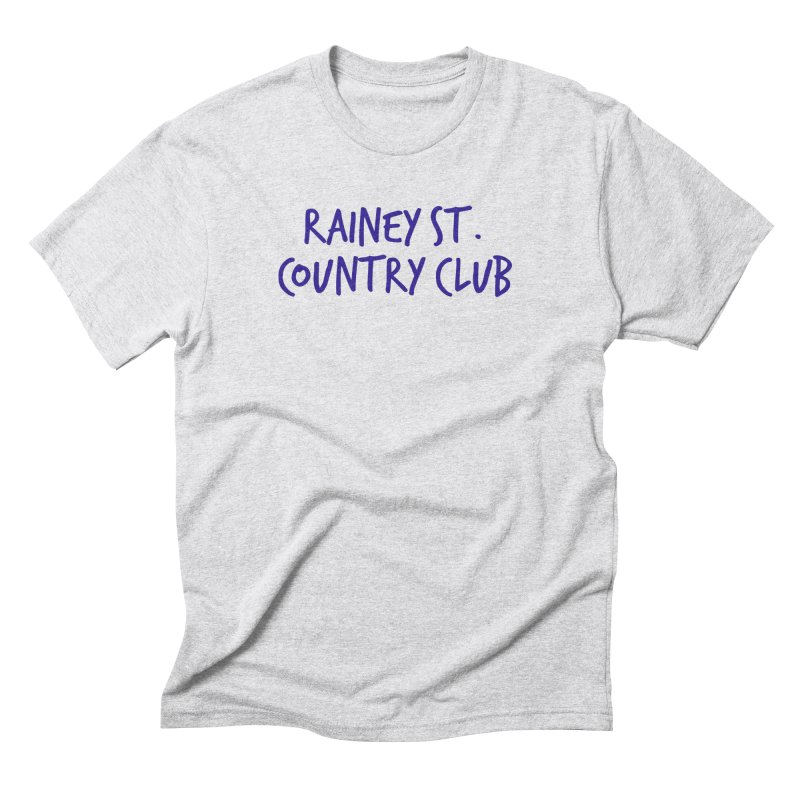 Rainey St. Country Club Men's Triblend T-Shirt by Turkeylegsray's Artist Shop