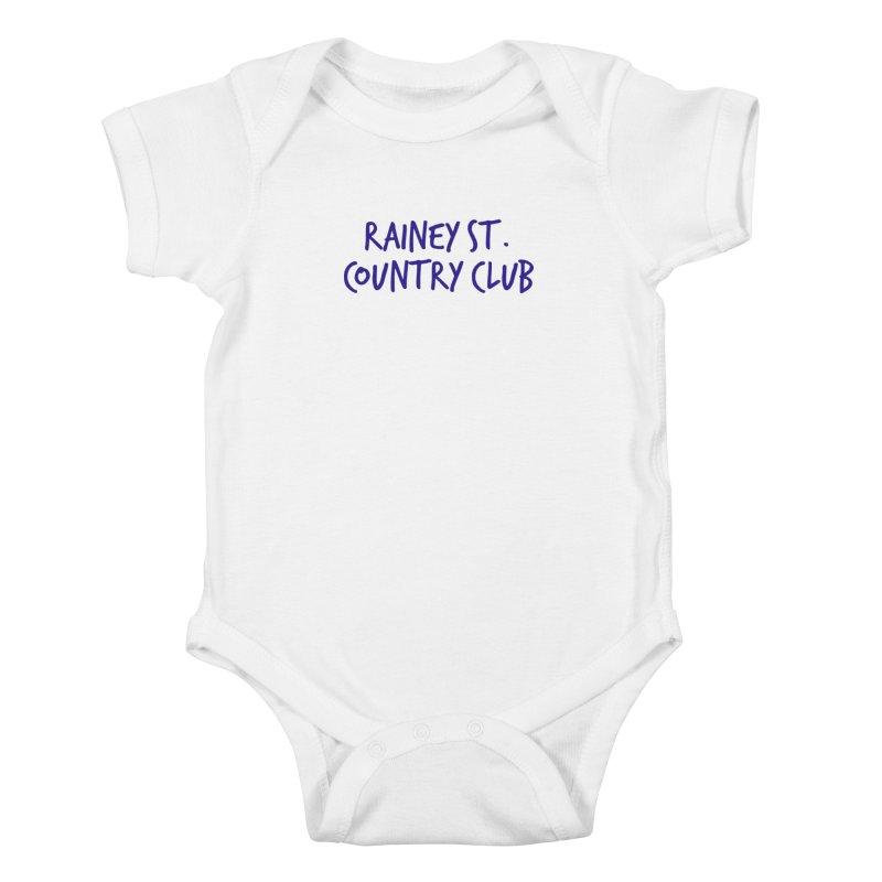 Rainey St. Country Club Kids Baby Bodysuit by Turkeylegsray's Artist Shop