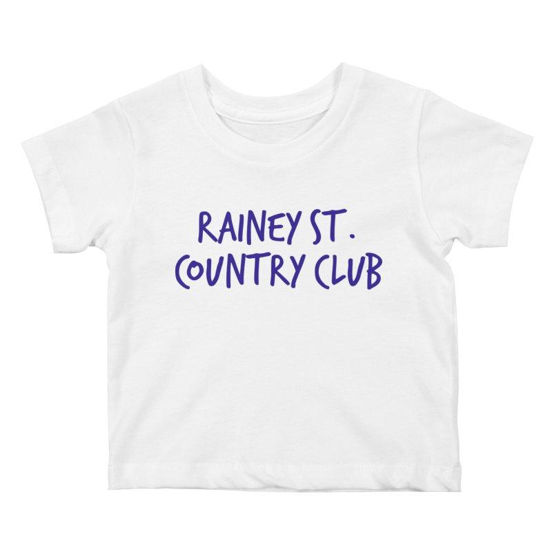 Rainey St. Country Club Kids Baby T-Shirt by Turkeylegsray's Artist Shop