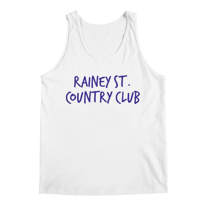 Rainey St. Country Club Men's Regular Tank by Turkeylegsray's Artist Shop