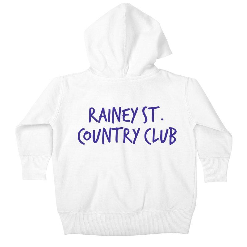 Rainey St. Country Club Kids Baby Zip-Up Hoody by Turkeylegsray's Artist Shop