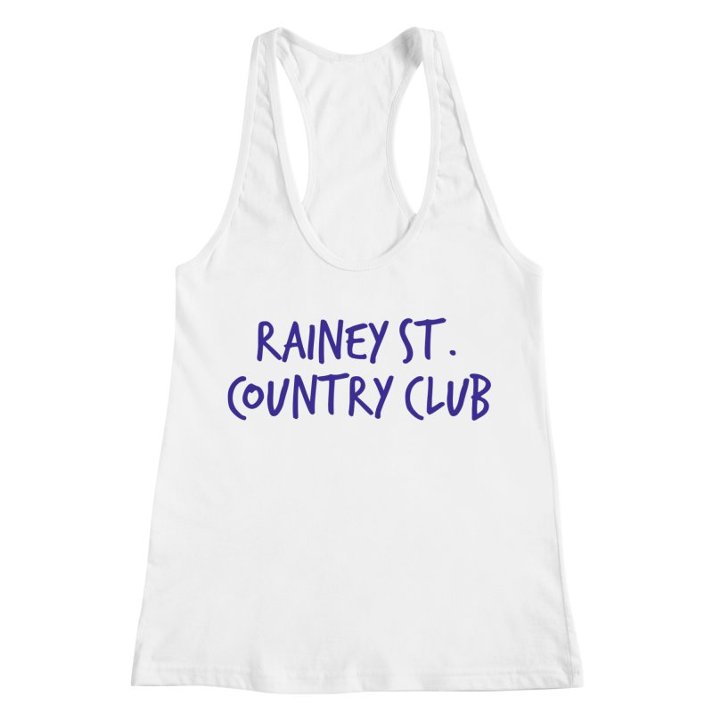 Rainey St. Country Club Women's Racerback Tank by Turkeylegsray's Artist Shop