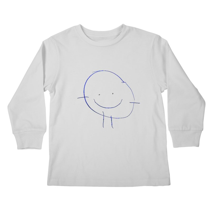 Griffin Face Kids Longsleeve T-Shirt by Turkeylegsray's Artist Shop
